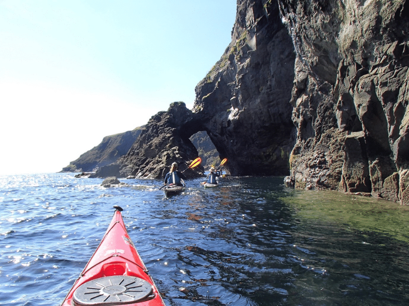 Go sea kayaking