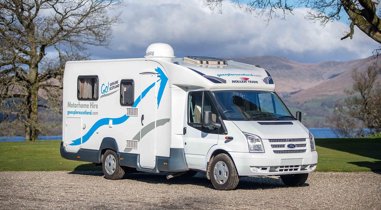 2 To 4 Berth Motorhome Campervan Rental Scotland